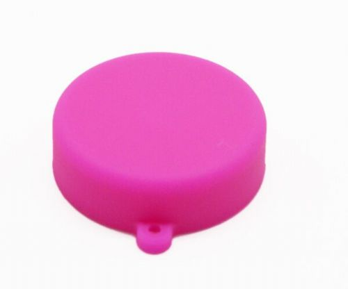 Soft Silicone Bright Pink Camera Lens Cap for GoPro 3/3+/4